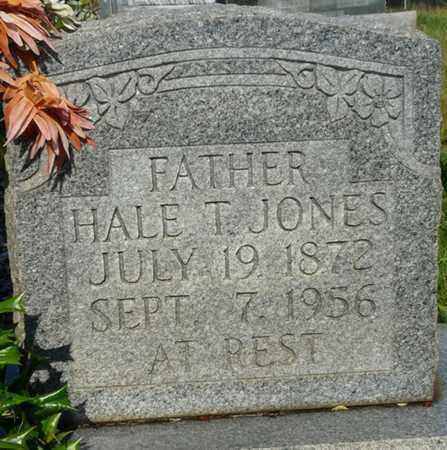 JONES, HALE T - Alcorn County, Mississippi | HALE T JONES - Mississippi Gravestone Photos