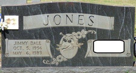 JONES, JIMMY DALE - Alcorn County, Mississippi | JIMMY DALE JONES - Mississippi Gravestone Photos