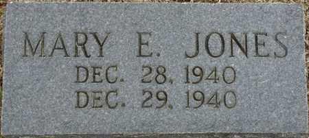 JONES, MARY E - Alcorn County, Mississippi | MARY E JONES - Mississippi Gravestone Photos