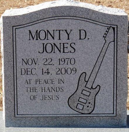 JONES, MONTY DWAYNE - Alcorn County, Mississippi   MONTY DWAYNE JONES - Mississippi Gravestone Photos