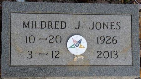 JONES, MILDRED J - Alcorn County, Mississippi | MILDRED J JONES - Mississippi Gravestone Photos