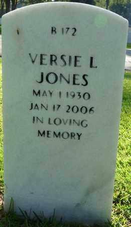 JONES, VERSIE L - Alcorn County, Mississippi   VERSIE L JONES - Mississippi Gravestone Photos