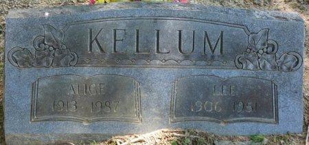 KELLUM, ALICE CUNNINGHAM - Alcorn County, Mississippi | ALICE CUNNINGHAM KELLUM - Mississippi Gravestone Photos