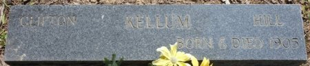 KELLUM, CLIFTON HILL - Alcorn County, Mississippi | CLIFTON HILL KELLUM - Mississippi Gravestone Photos