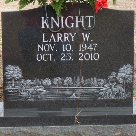 KNIGHT, LARRY WAYNE - Alcorn County, Mississippi | LARRY WAYNE KNIGHT - Mississippi Gravestone Photos