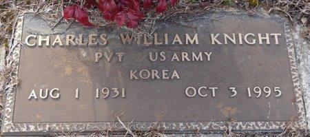 KNIGHT (VETERAN KOREA), CHARLES WILLIAM - Alcorn County, Mississippi | CHARLES WILLIAM KNIGHT (VETERAN KOREA) - Mississippi Gravestone Photos