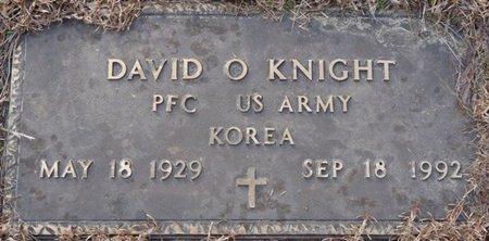 KNIGHT (VETERAN KOREA), DAVID O - Alcorn County, Mississippi   DAVID O KNIGHT (VETERAN KOREA) - Mississippi Gravestone Photos