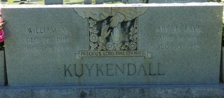 KUYKENDALL, WILLIAM AARON - Alcorn County, Mississippi | WILLIAM AARON KUYKENDALL - Mississippi Gravestone Photos