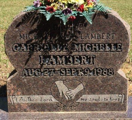 LAMBERT, GABRIELLE MICHELLE - Alcorn County, Mississippi | GABRIELLE MICHELLE LAMBERT - Mississippi Gravestone Photos