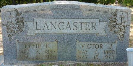 LANCASTER, EFFIE E - Alcorn County, Mississippi | EFFIE E LANCASTER - Mississippi Gravestone Photos