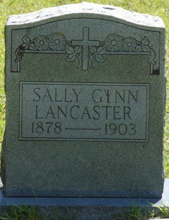 LANCASTER, SALLY GINN - Alcorn County, Mississippi | SALLY GINN LANCASTER - Mississippi Gravestone Photos