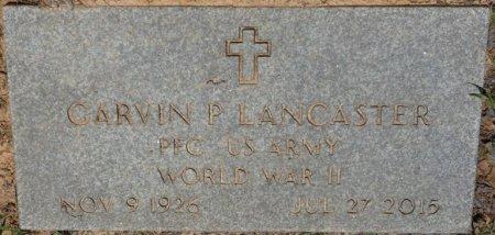 LANCASTER (VETERAN WWII), GARVIN PAUL (NEW) - Alcorn County, Mississippi   GARVIN PAUL (NEW) LANCASTER (VETERAN WWII) - Mississippi Gravestone Photos