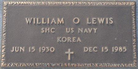 LEWIS (VETERAN KOREA), WILLIAM O - Alcorn County, Mississippi | WILLIAM O LEWIS (VETERAN KOREA) - Mississippi Gravestone Photos