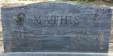 MATHIS, WILLIE D - Alcorn County, Mississippi | WILLIE D MATHIS - Mississippi Gravestone Photos