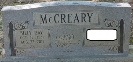 MCCREARY, BILLY RAY - Alcorn County, Mississippi | BILLY RAY MCCREARY - Mississippi Gravestone Photos