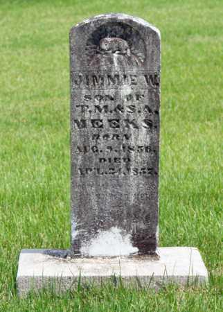 MEEKS, JIMMIE W - Alcorn County, Mississippi   JIMMIE W MEEKS - Mississippi Gravestone Photos