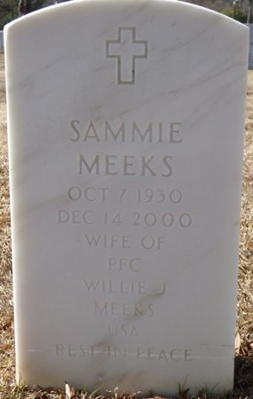 MEEKS, SAMMIE - Alcorn County, Mississippi | SAMMIE MEEKS - Mississippi Gravestone Photos