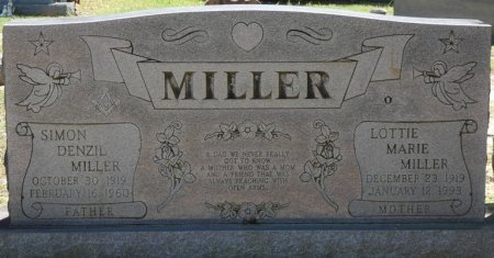 ELLIOTT MILLER, LOTTIE MARIE - Alcorn County, Mississippi | LOTTIE MARIE ELLIOTT MILLER - Mississippi Gravestone Photos