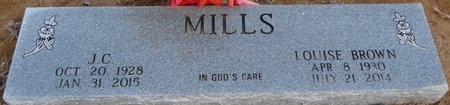MILLS, LOUISE - Alcorn County, Mississippi | LOUISE MILLS - Mississippi Gravestone Photos