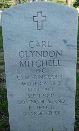 MITCHELL (VETERAN WWII), CARL GLYNDON - Alcorn County, Mississippi | CARL GLYNDON MITCHELL (VETERAN WWII) - Mississippi Gravestone Photos