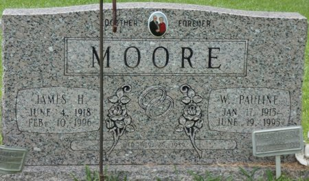 MOORE, JAMES HENRY - Alcorn County, Mississippi | JAMES HENRY MOORE - Mississippi Gravestone Photos
