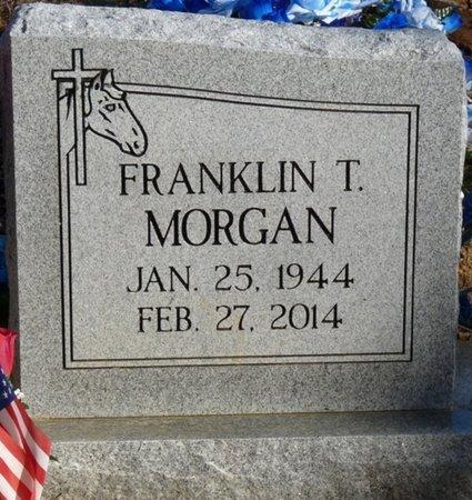 MORGAN, FRANKLIN T - Alcorn County, Mississippi   FRANKLIN T MORGAN - Mississippi Gravestone Photos