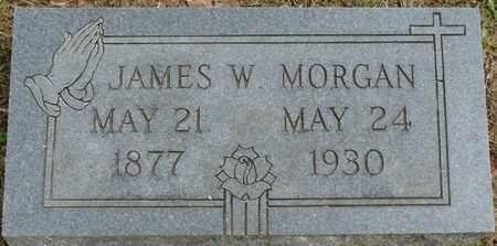 MORGAN, JAMES W - Alcorn County, Mississippi   JAMES W MORGAN - Mississippi Gravestone Photos