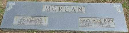 MORGAN, MARY ANN - Alcorn County, Mississippi   MARY ANN MORGAN - Mississippi Gravestone Photos