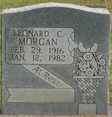 MORGAN, LEONARD C - Alcorn County, Mississippi   LEONARD C MORGAN - Mississippi Gravestone Photos