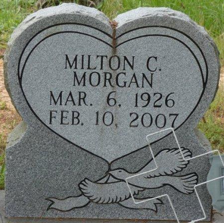 MORGAN, MILTON CLYDE - Alcorn County, Mississippi   MILTON CLYDE MORGAN - Mississippi Gravestone Photos