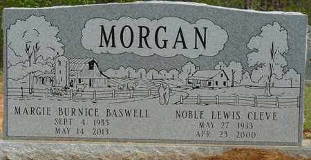 MORGAN, MARGIE BURNICE - Alcorn County, Mississippi   MARGIE BURNICE MORGAN - Mississippi Gravestone Photos
