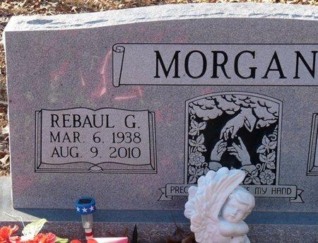 MORGAN, REBAUL G - Alcorn County, Mississippi   REBAUL G MORGAN - Mississippi Gravestone Photos