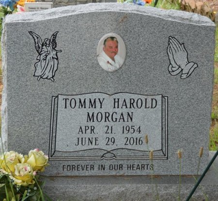 MORGAN, TOMMY HAROLD - Alcorn County, Mississippi | TOMMY HAROLD MORGAN - Mississippi Gravestone Photos