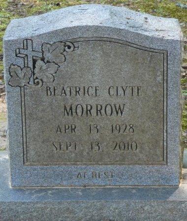 MORROW, BEATRICE CLYTE - Alcorn County, Mississippi | BEATRICE CLYTE MORROW - Mississippi Gravestone Photos