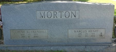 KUYKENDALL MORTON, FLORENE - Alcorn County, Mississippi | FLORENE KUYKENDALL MORTON - Mississippi Gravestone Photos