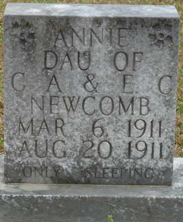 NEWCOMB, ANNIE - Alcorn County, Mississippi | ANNIE NEWCOMB - Mississippi Gravestone Photos