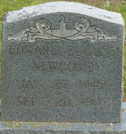 NEWCOMB, EDWARD EUGENE - Alcorn County, Mississippi   EDWARD EUGENE NEWCOMB - Mississippi Gravestone Photos