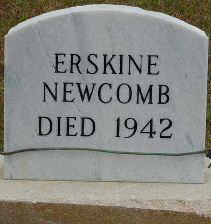 NEWCOMB, ERSKINE - Alcorn County, Mississippi   ERSKINE NEWCOMB - Mississippi Gravestone Photos