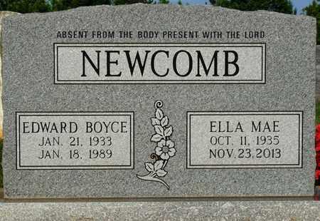 NEWCOMB, EDWARD BOYCE - Alcorn County, Mississippi   EDWARD BOYCE NEWCOMB - Mississippi Gravestone Photos