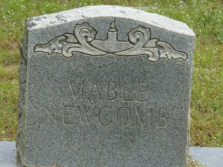 NEWCOMB, MABLE - Alcorn County, Mississippi | MABLE NEWCOMB - Mississippi Gravestone Photos