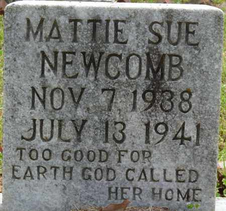 NEWCOMB, MATTIE SUE - Alcorn County, Mississippi   MATTIE SUE NEWCOMB - Mississippi Gravestone Photos