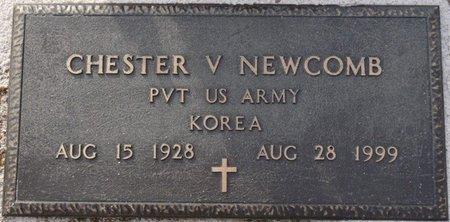 NEWCOMB (VETERAN KOREA), CHESTER V - Alcorn County, Mississippi | CHESTER V NEWCOMB (VETERAN KOREA) - Mississippi Gravestone Photos