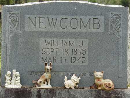 NEWCOMB, WILLIAM J - Alcorn County, Mississippi | WILLIAM J NEWCOMB - Mississippi Gravestone Photos