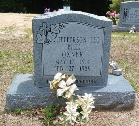 "OXNER, JEFFERSON LEO ""BILL"" - Alcorn County, Mississippi 