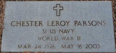 PARSONS (VETERAN WWII), CHESTER LEROY - Alcorn County, Mississippi   CHESTER LEROY PARSONS (VETERAN WWII) - Mississippi Gravestone Photos