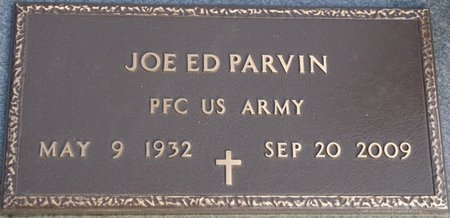 PARVIN (VETERAN), JOE ED - Alcorn County, Mississippi | JOE ED PARVIN (VETERAN) - Mississippi Gravestone Photos