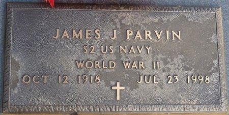 PARVIN (VETERAN WWII), JAMES J - Alcorn County, Mississippi   JAMES J PARVIN (VETERAN WWII) - Mississippi Gravestone Photos