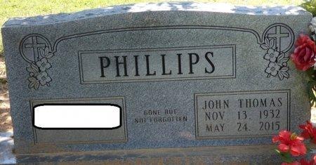 PHILLIPS, JOHN THOMAS - Alcorn County, Mississippi | JOHN THOMAS PHILLIPS - Mississippi Gravestone Photos
