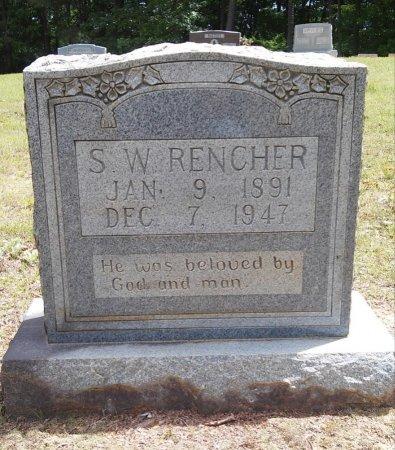 RENCHER, SIDNEY WASHINGTON - Alcorn County, Mississippi   SIDNEY WASHINGTON RENCHER - Mississippi Gravestone Photos