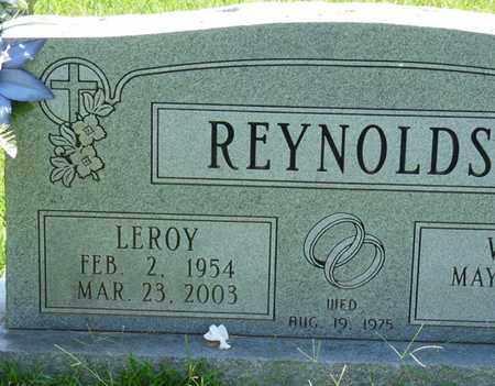 REYNOLDS, LEROY - Alcorn County, Mississippi | LEROY REYNOLDS - Mississippi Gravestone Photos